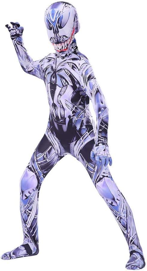 Disfraz Venom Spiderman Niño Adulto,Halloween Cosplay Lycra ...