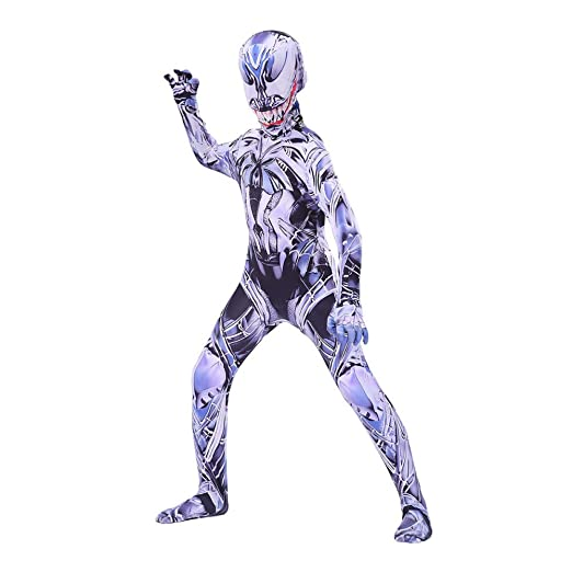 Disfraz Venom Spiderman Niño Adulto,Halloween Cosplay Lycra ...