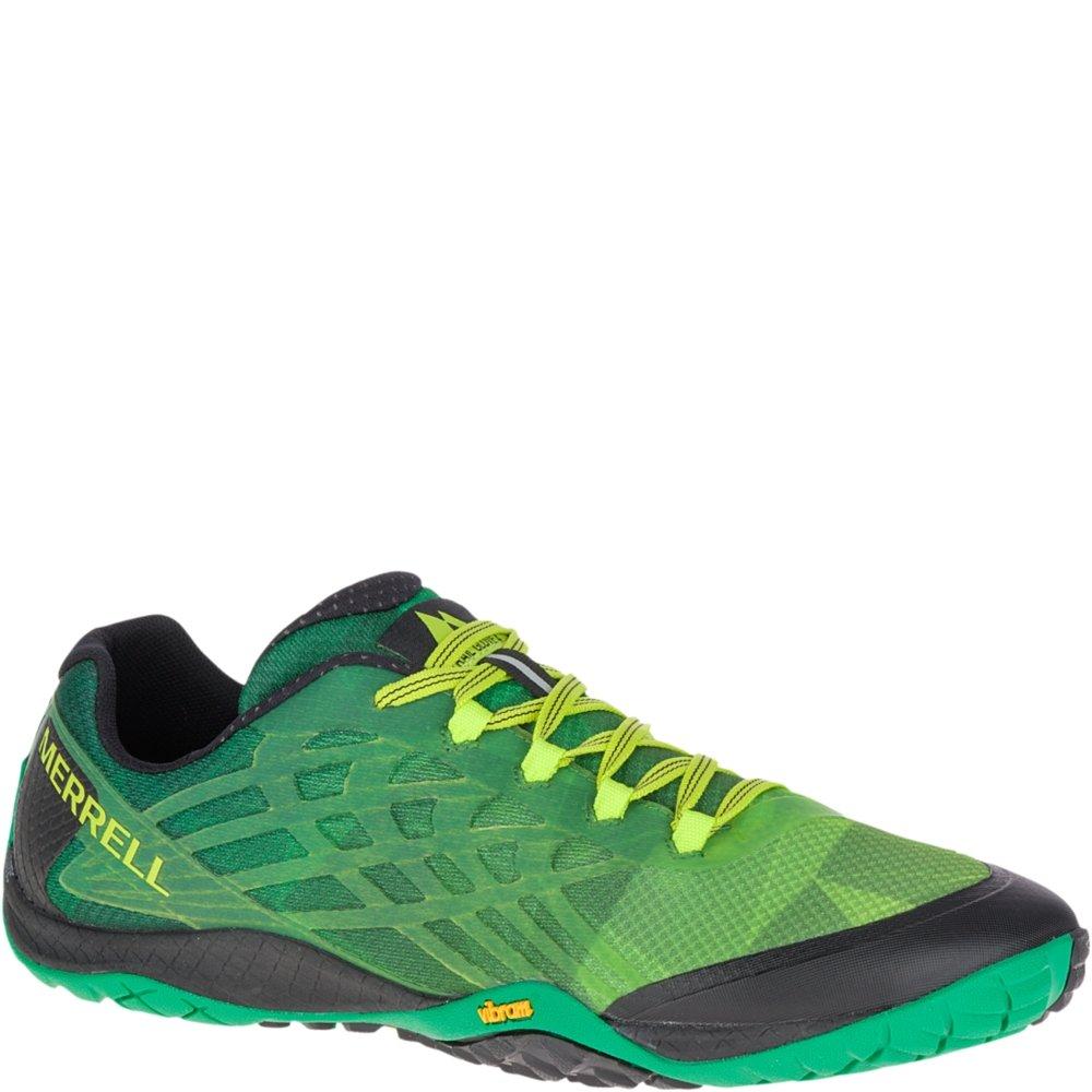 Merrell Men's Trail Glove 4 Sneaker, Emerald, 10.5 M US