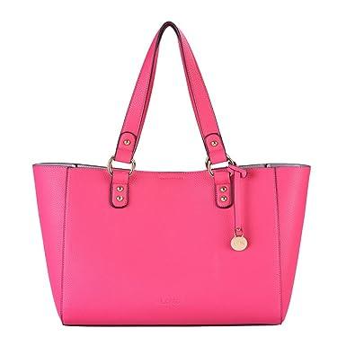 L. CREDI Damen Schultertasche Aida 309 7875 pink: