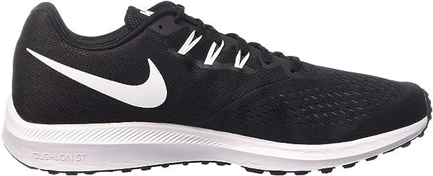 Nike Zoom Winflo 4, Zapatillas de Entrenamiento para Hombre, Negro (Black/White/Dark Grey), 40.5 EU: Amazon.es: Zapatos y complementos