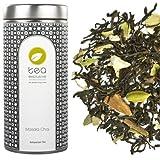 tea exclusive - Masala Chai - Schwarzer Tee mit Gewürzen, ohne zusätzliches Aroma, Indien, Dose 100g