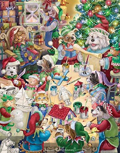 North Pole Pets Advent Calendar (Countdown to Christmas)