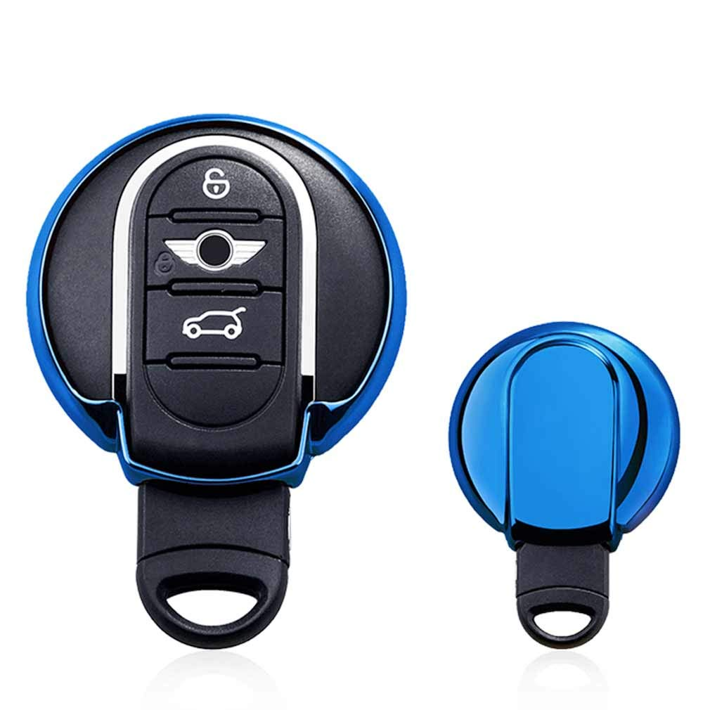 Rose Auto cl/és Sac Housse de Protection pour BMW Mini Cooper F54 F55 F56 F57 F60 3//4-Buttons Smart Key