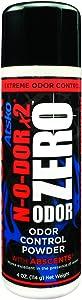 Atsko Zero N-O-Dor II Powder, Black, 8 oz