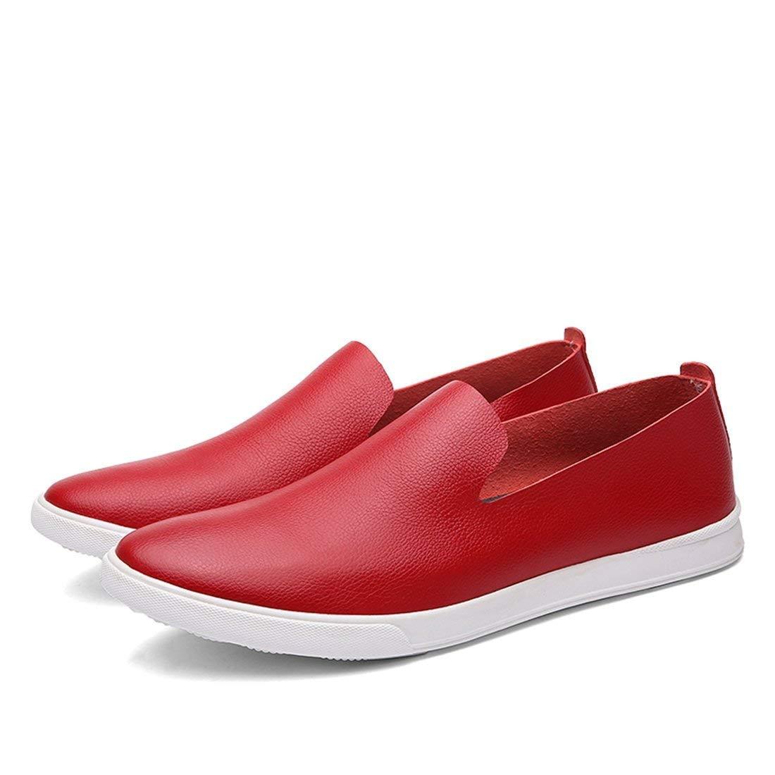 HhGold Mocasines de Vestir Rojos con Suela de Goma para niños de Boy Boy UK 8 (Color : -, tamaño : -): Amazon.es: Hogar