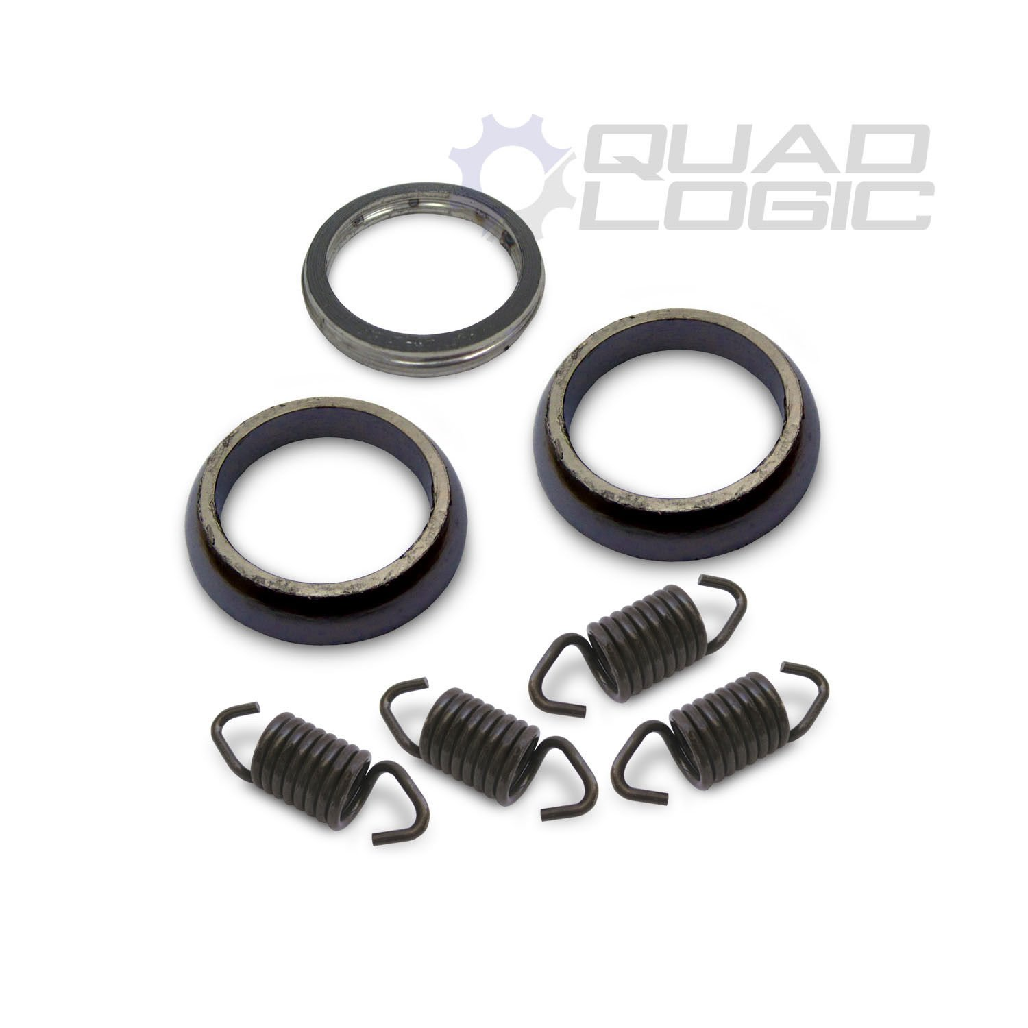 Polaris Sportsman 450 570 Exhaust Gasket /& Spring Rebuild Kit 5256385 2014-18