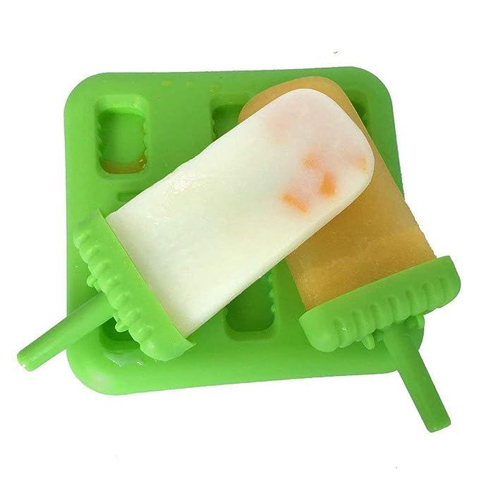 Compra CRMICL Molde para paletas Molde para paletas de Hielo Fabricante Tupperware Calidad BPA Free de 6 en Amazon.es