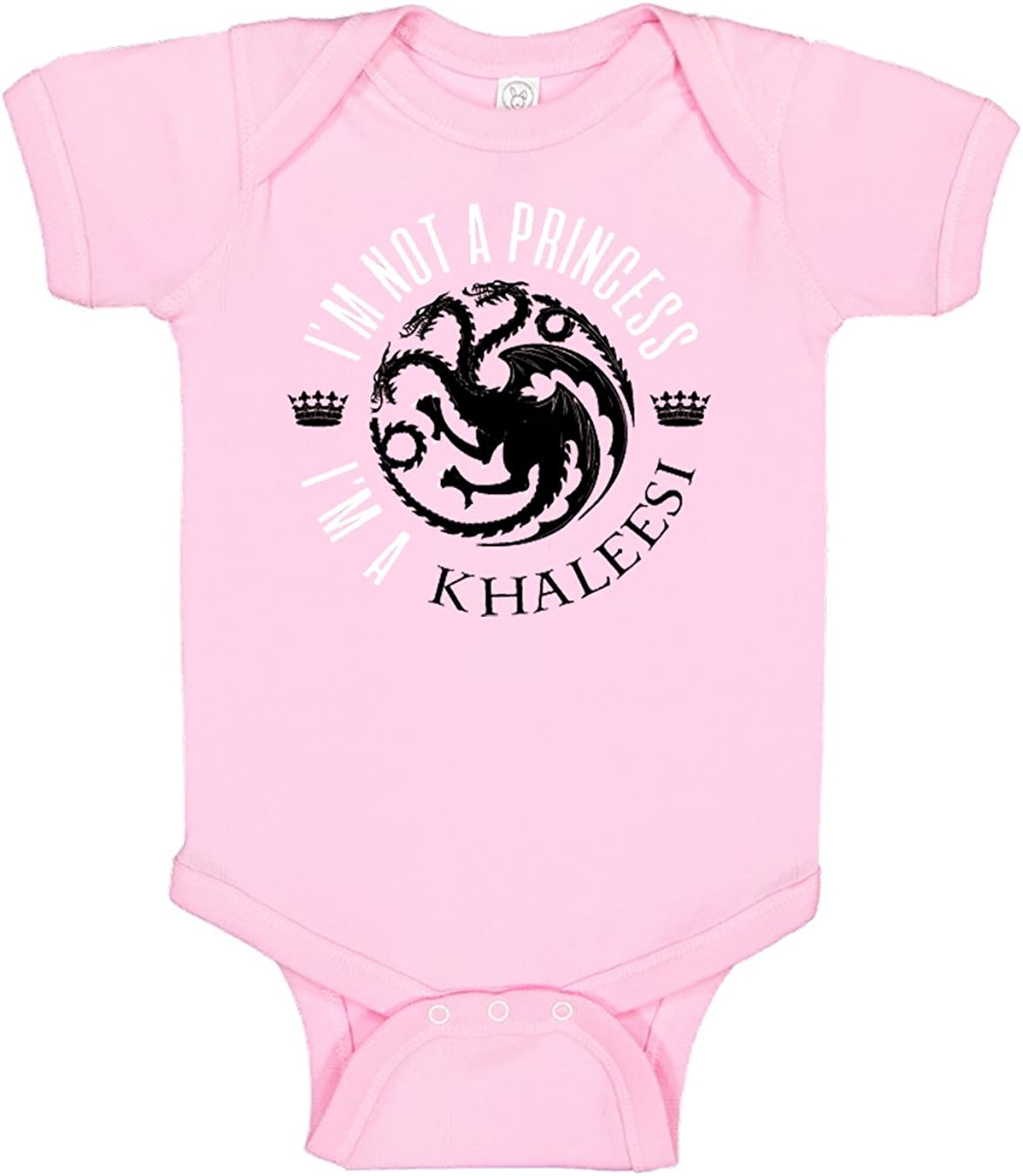 Panoware Funny Baby Girl Onesie   I'm Not a Princess I'm a Khaleesi