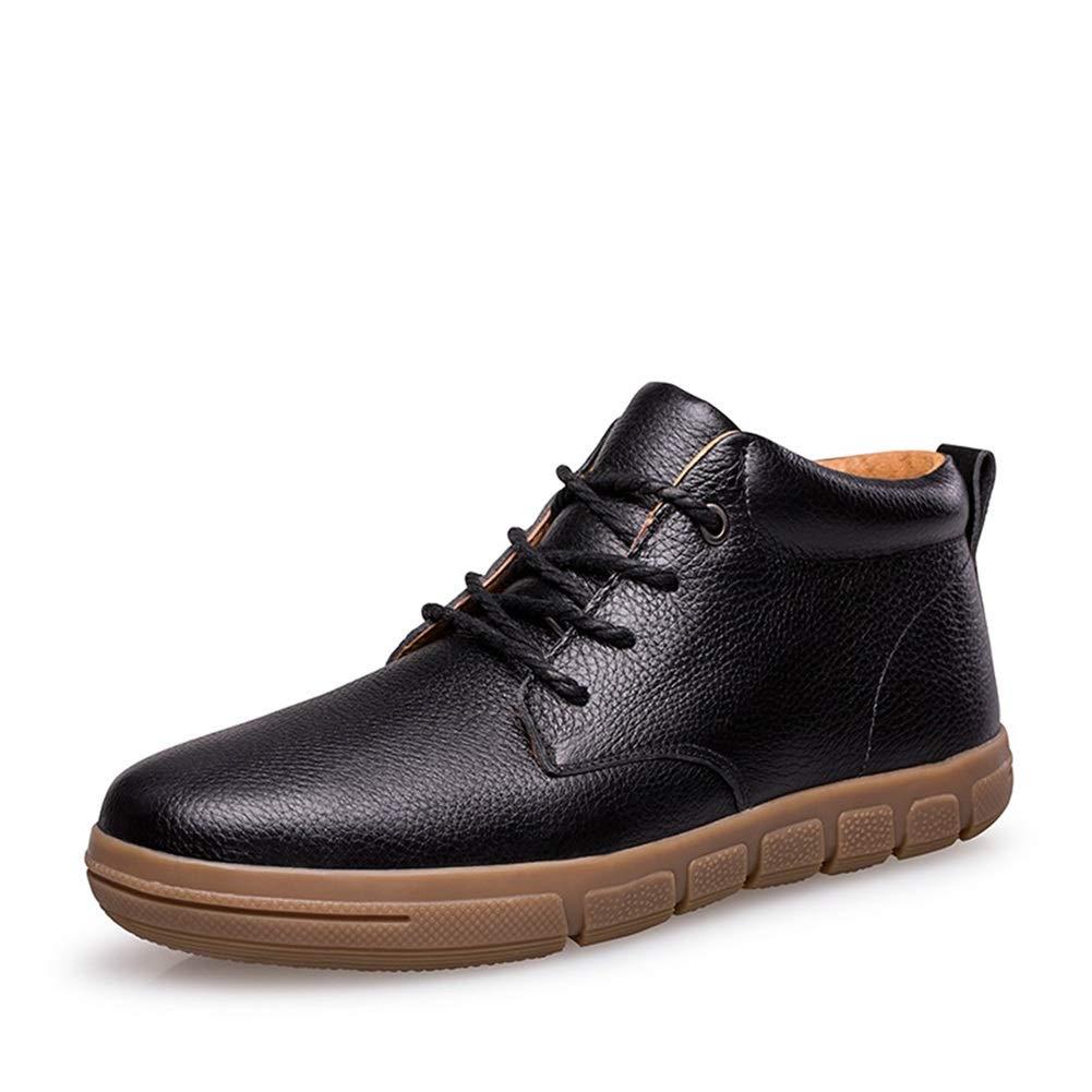 XUE Herrenschuhe, Leder Business Casual Schuhe Trend Big Größe Schuhe Startseite