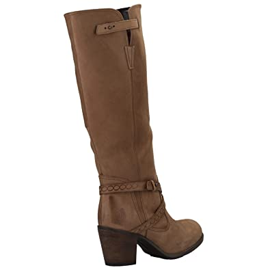 026385ca221 Tan Hush Puppies Womens Gussie Moorland Leather Boots - Size : UK3 ...
