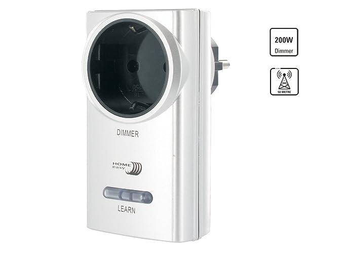 1 opinioni per Home Easy HE878A- Presa telecomandata con variatore, colore: Argento
