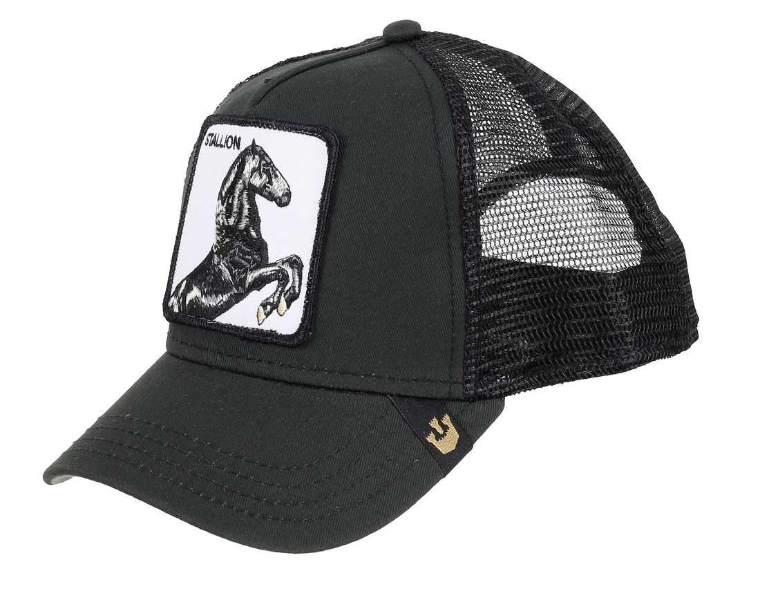 Gorra trucker negra caballo spirit Stallion de Goorin Bros. product image