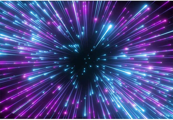 Leowefowa Partyhintergrund Aus Vinyl Leuchtend Kamera