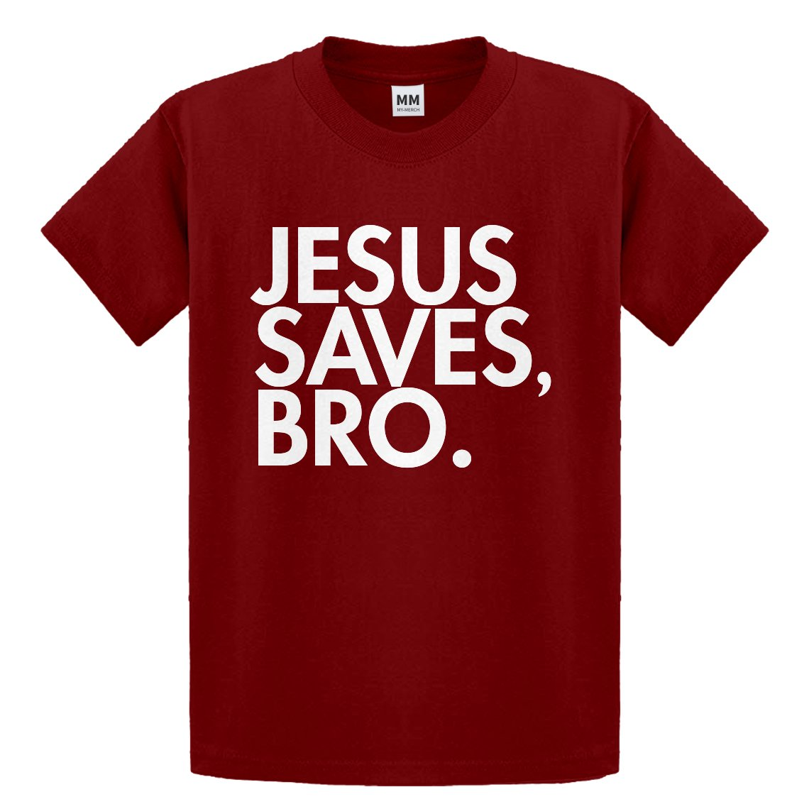 Indica Plateau Youth Jesus Saves Bro Kids T-Shirt