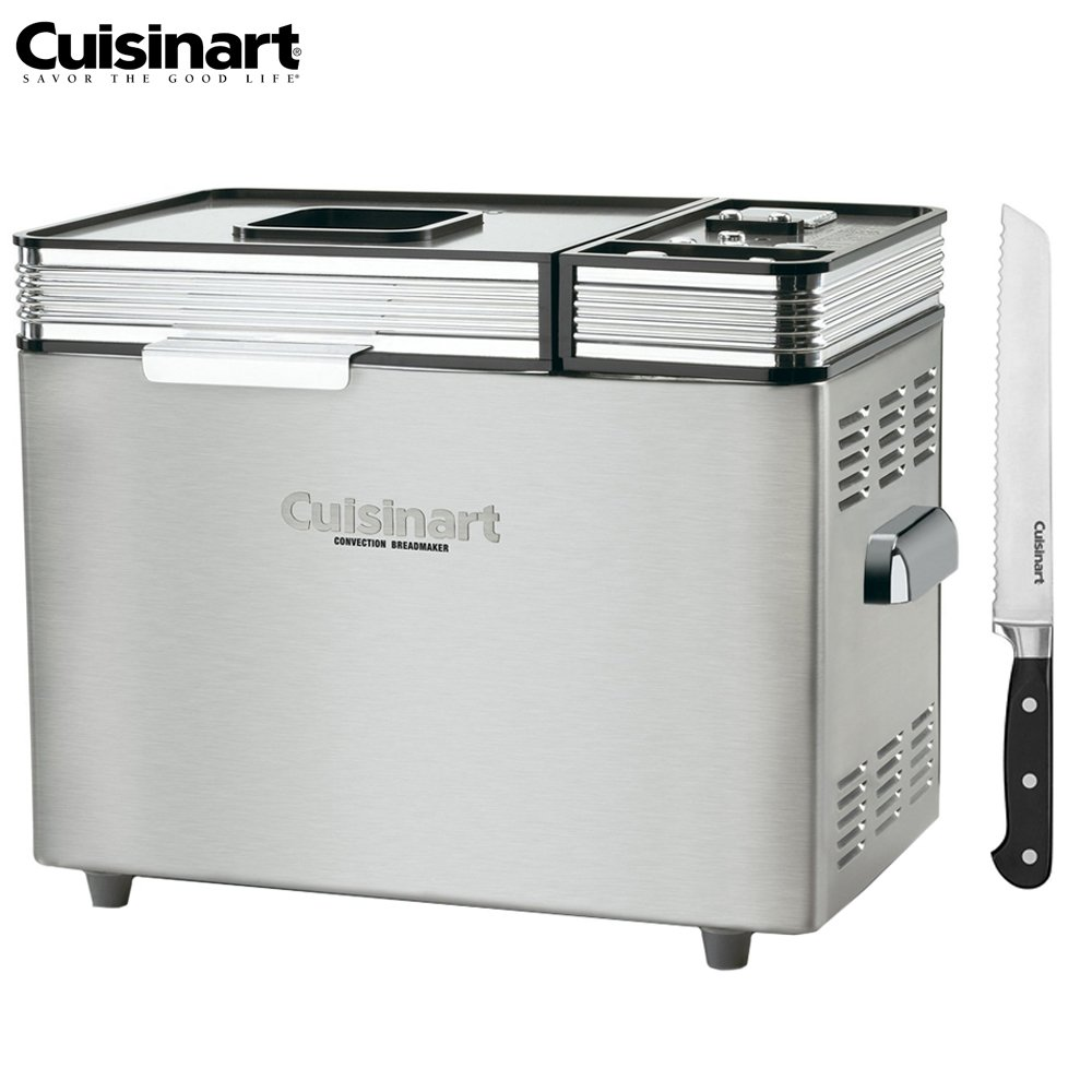 Cuisinart CBK-200FR Convection Automatic Bread Maker - (Certified Refurbished) w/FREE 8'' Bread Knife