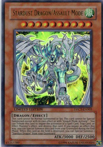 - Yugioh 2009 Duelist Pack Tin Promo #DPCT-EN003 Stardust Dragon Limited Edition Ultra Rare