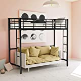 Double 4ft 6 Loft Bunkbed Wooden High Sleeper Can Be