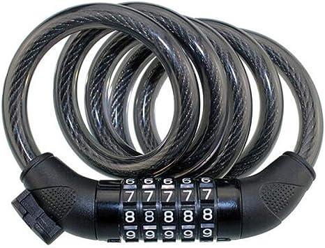 WeiCYN - Candado para Bicicleta, Cable de Acero para candado de ...