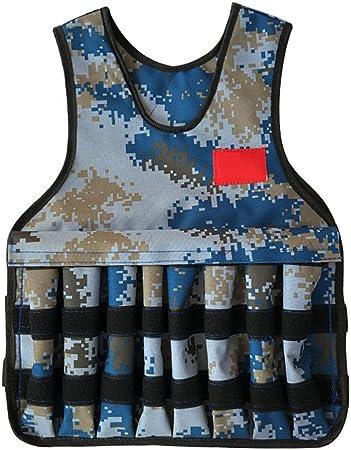 Musculación Chalecos de peso Chaleco ponderado de camuflaje ajustable unisex Cómodo debajo de la camisa Chaleco de peso for ejercicios de entrenamiento físico Ejercicio Chaleco de entrenamiento cruzad: Amazon.es: Hogar