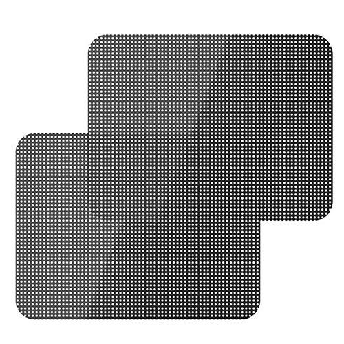 DeemoShop 2 Pcs UV Sticker Car Sunshade Electrostatic Stickers Auto Supplies Sun Block Sun-Shading Stickers 72X52CM Car Styling