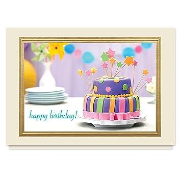 Amazon Far Out Birthday 25 Premium Birthday Cards With Foil