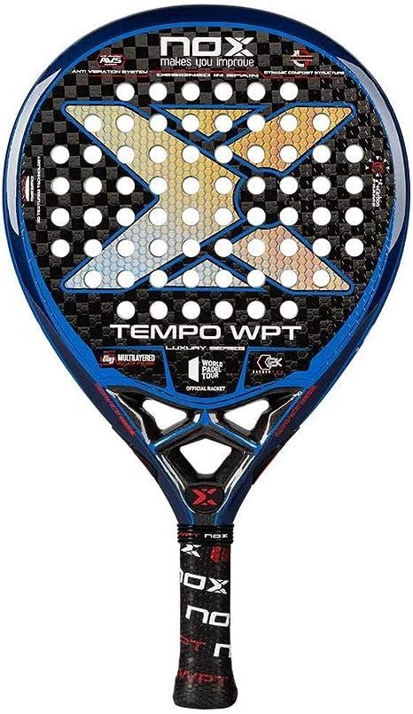 NOX Pala de pádel Tempo WPT, pala oficial World Padel Tour: Amazon.es: Deportes y aire libre