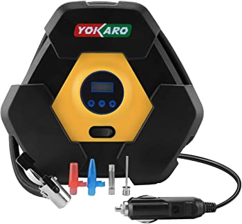Yokaro Portable Tire Inflator 12V 150-PSI Air Pump