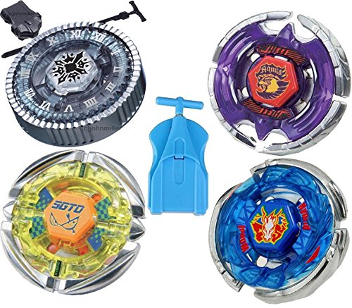 - Metal 4D Fusion Starter Set D Battling Tops
