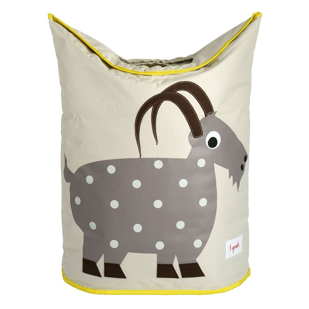 3Sprouts Laundry Basket Goat–Fabric–107-003-002 ELEMENTS FOR KIDS