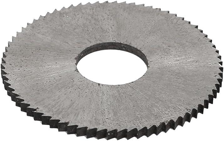 "Equipment Slitting Saw Tool 2.5/"" Diameter Blade Milling Silver HSS Round"