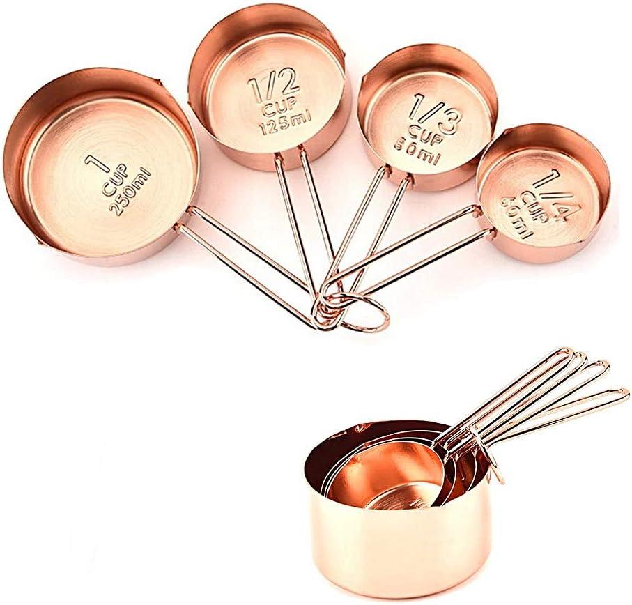 kitchen gadgets Measuring cup set gold