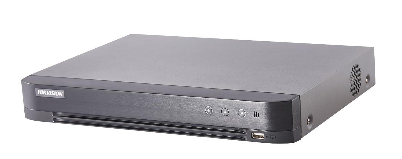 Hikvision Ds-7204huhi-k1Turbo 4.0HD DVR à 4canaux Surveillance Enregistreur hybride 5MP Tvi 6MP IPC HDMI Sortie VGA, noir
