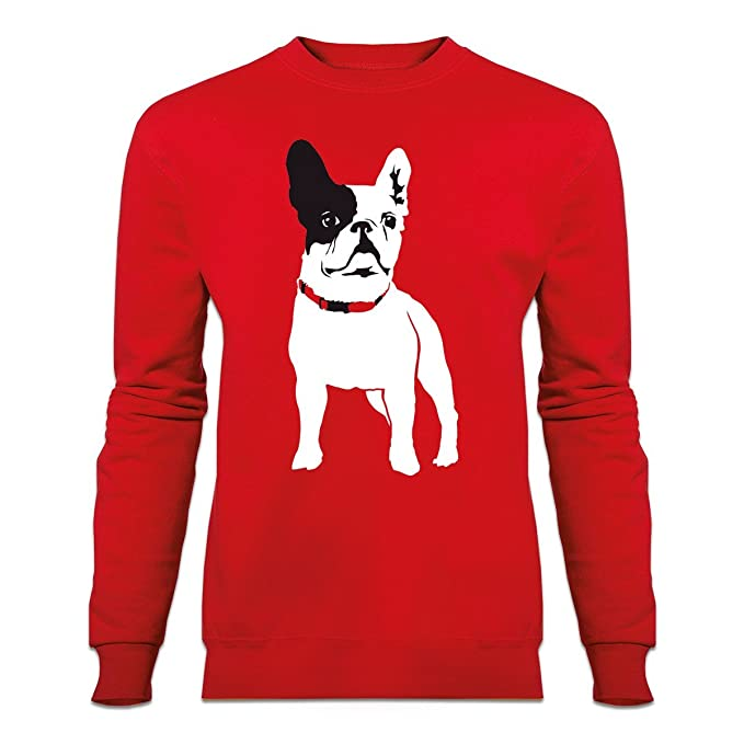 Sudadera Bulldog Frances by Shirtcity