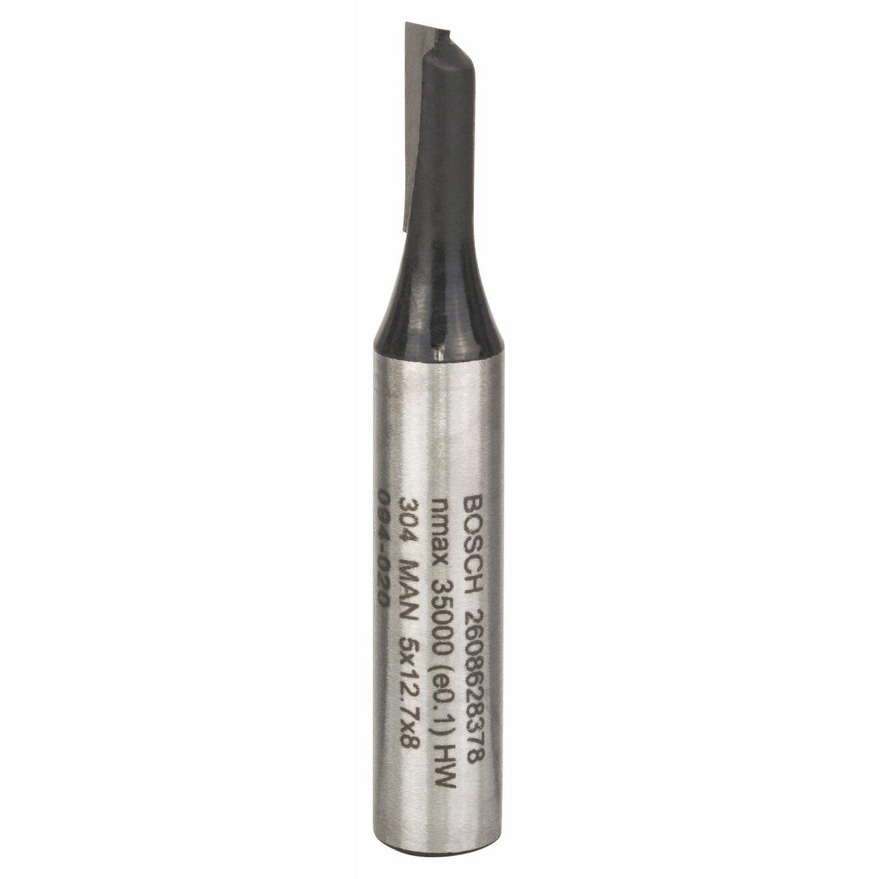 Bosch 2 608 628 378 - Fresas de ranurar - 8 mm, D1 5 mm, L 12,7 mm, G 51 mm (pack de 1) 2608628378