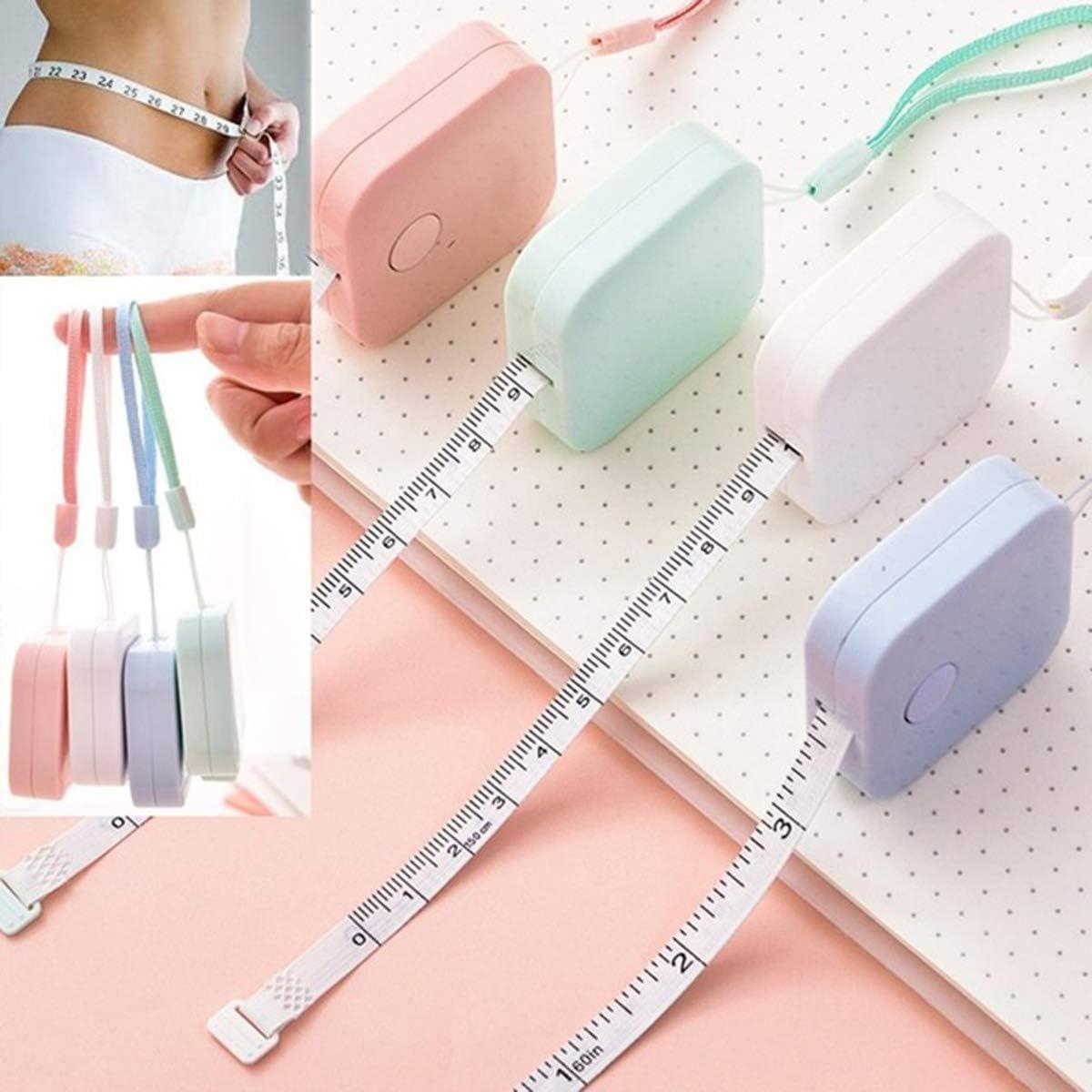 pour Body Measuring M/ètre Couture Couleur al/éatoire Lunji 1pc M/ètre Ruban 1.5m