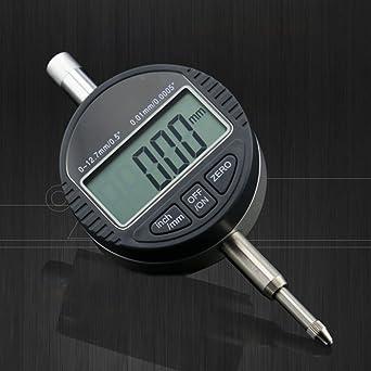 favourall Digital Calibre Onde (Medición Reloj comparador analógico (Rango de medición 0 – 12