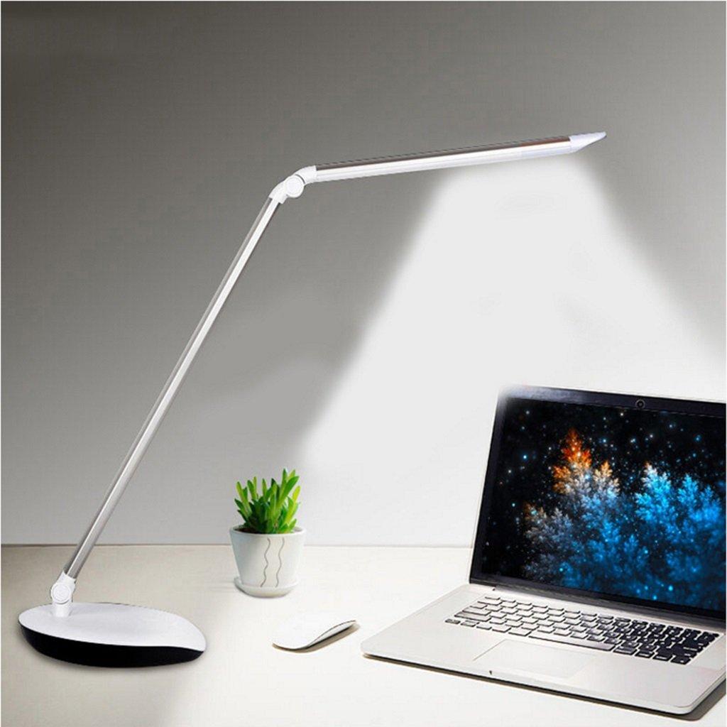 %Schreibtischlampen LED Schreibtischlampe 5W lösen, Schlafzimmer Nachttischlampe, Berührungsschalter, dimmbar, Serie  72007 Tischleuchte