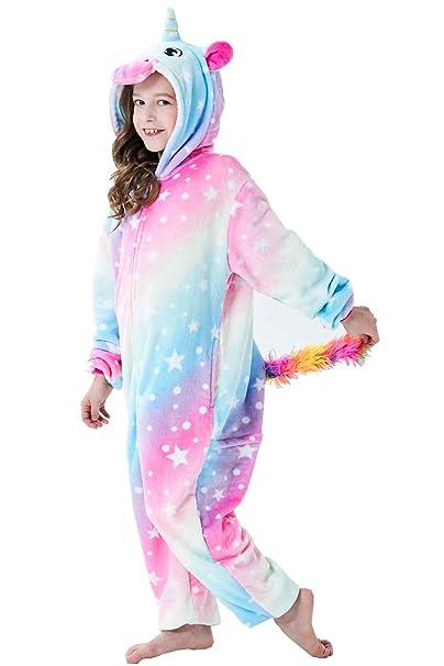 Pijama Unisex para Adultos, Unicornio, Tigre, Mono, Zorro de lión, Animales, Cosplay, Halloween, Carnaval, Disfraz, Ropa de salón