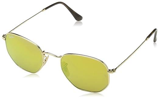 Óculos de Sol Ray Ban Hexagonal RB3548N 001 93-51  Amazon.com.br ... 9a85910cc8