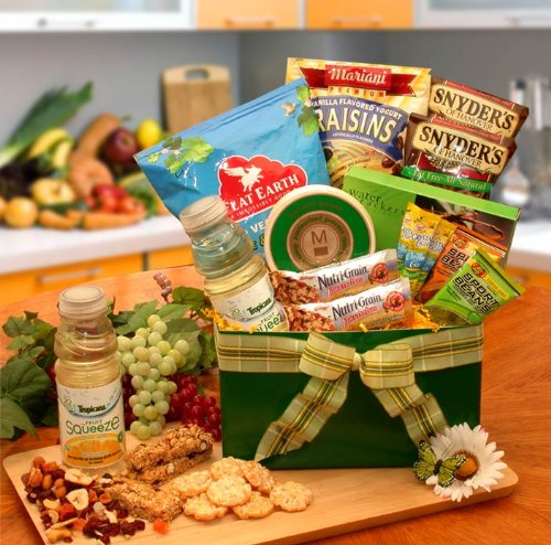 Healthy Gift For The Health Of It Gourmet Gift Box by Healthy Gift Basket