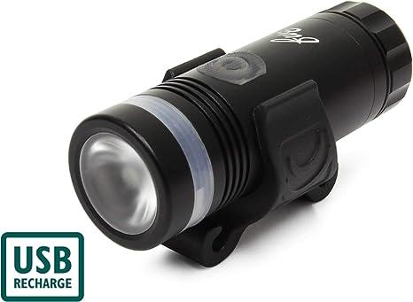 FWE USB Rechargeable Front /& Rear Bike Light Set 450//50 Lumen