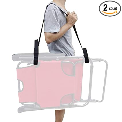 Awe Inspiring Yyst 2 X Adjustable Beach Chair Carry Strap Universal Folding Chair Carry Strap Bed Chair Carry Strap 2 Straps Per Pack Chair Not Included Home Remodeling Inspirations Basidirectenergyitoicom