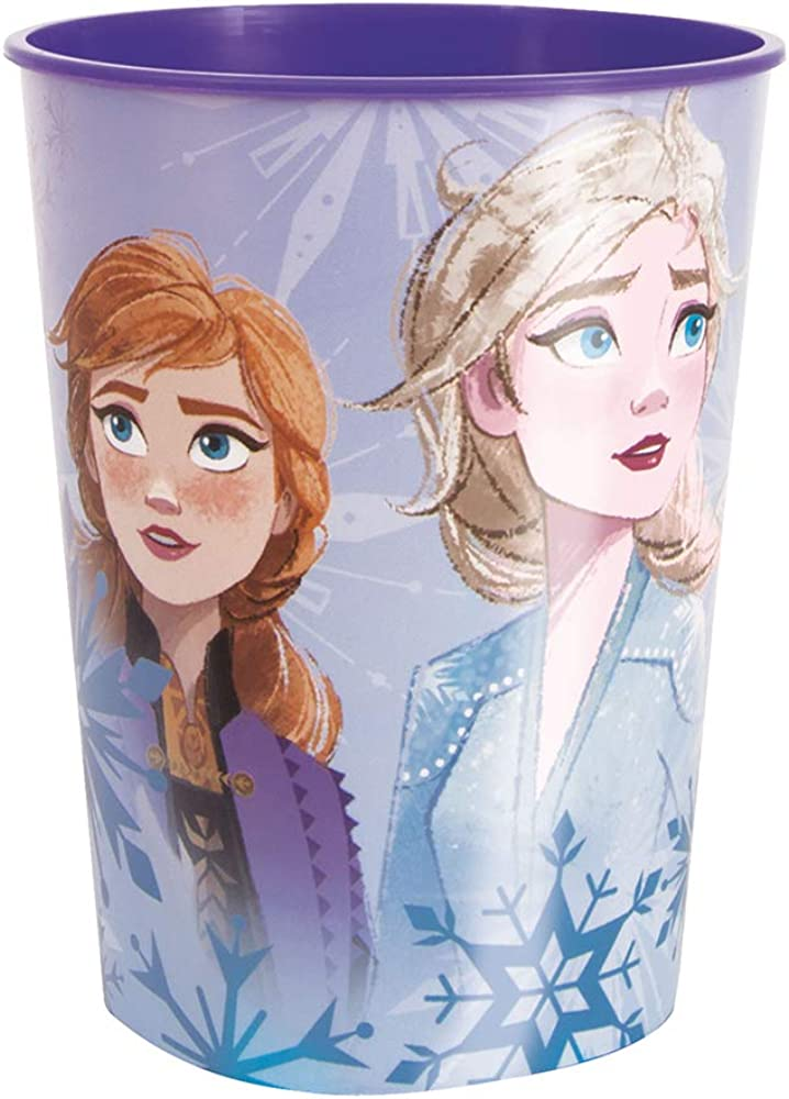 Unique Industries Frozen 2 16 oz Plastic Favor Cup