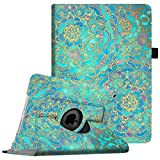Fintie iPad mini 1/2/3 Case - 360 Degree Rotating Stand Case Cover with Auto Sleep/Wake Feature for Apple iPad mini 1/iPad mini 2/iPad mini 3, Shades of Blue
