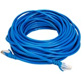 Terabyte CAT5E RJ45 Ethernet Lan Cable Patch Cord CAT 5E 25M 75 ft - Blue Color