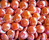 "Product review for Creative Stuff Glass - 1 Lb - Opal Orange Irid. Glass Gems - Vase Fillers (17-19mm, Approx. 3/4"")"