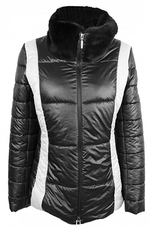 AIRFIELD Chaqueta de plumas, mujer, Freestyle-jacket, negro, 40