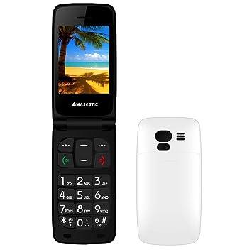 Cellulare Majestic Tlf Sileno 41n Flip Amazoncouk Electronics