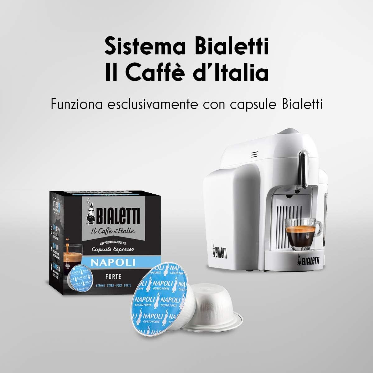 Bialetti Mini Blanche appareil du caf/é blanc